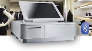 The World's 1st Bluetooth Combined 58mm Printer and Cash Drawer